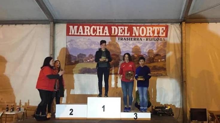 Oihane Unzaluk irabazi du Kantabrian jokatutako Marcha del Norte proba