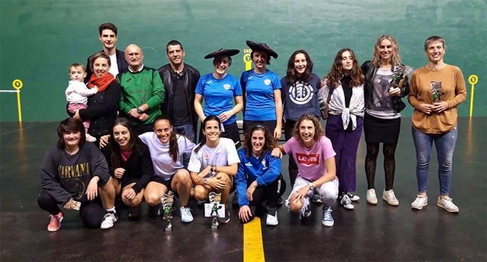 Salamankako eta Burgoseko bikoteak irabazi du emakumeen frontenis txapelketa Mallabian