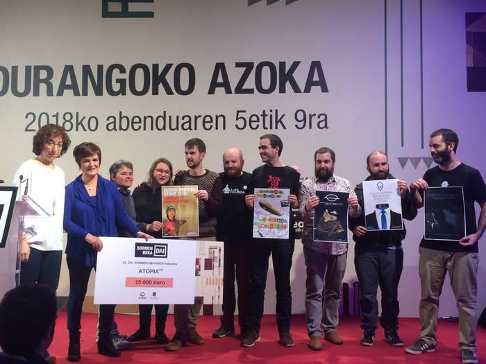 Etzi Portu Maritimoa taldeak irabazi du Durangoko Azokaren lehenengo Sormen Beka