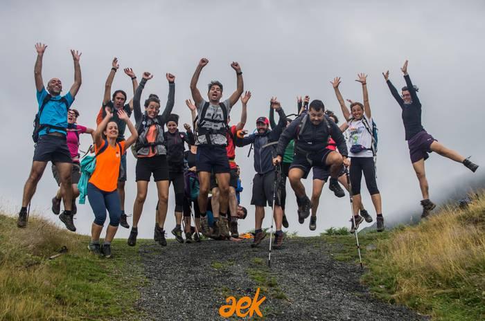 Lautadak, basoa, itsasoa… Euskal Herriko 11 aurpegiak erakutsiko ditu AEK ibiltariak