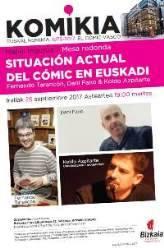 Mahai ingurua: Situación actual del cómic en Euskadi