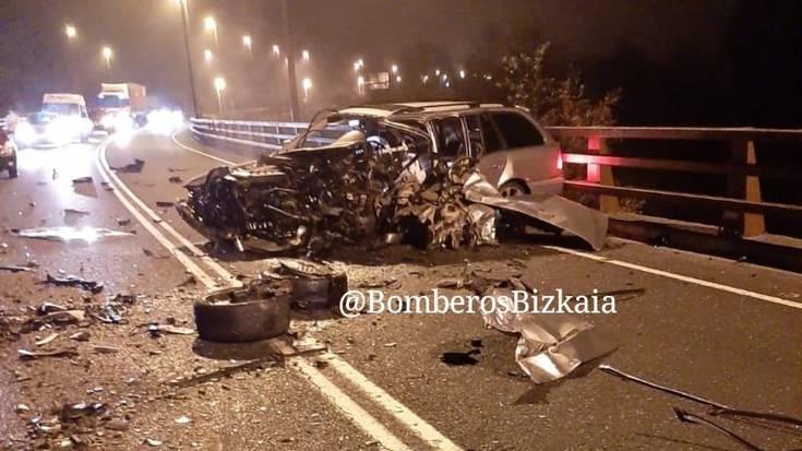 25 urteko zornotzar bat hil da Igorren gertatu den auto istripu batean