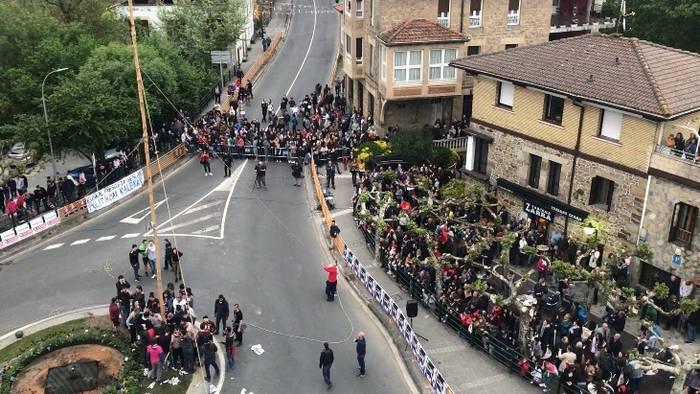Zapatu eguerdian Donien Atxa jarrita hasiera emango diete San Prudentzio jaiei