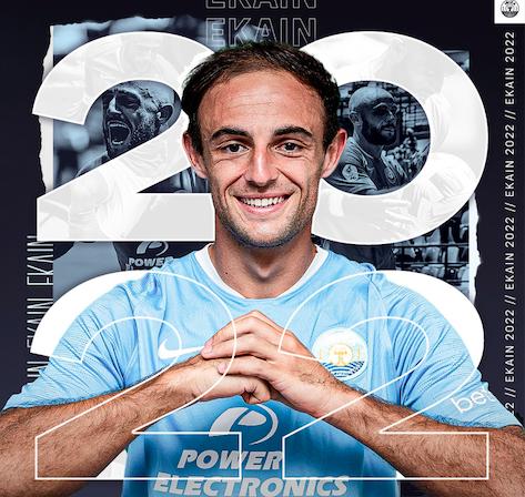 Ekain Zenitagoia durangarrak urtebeterako berritu du kontratua Ibiza futbol taldearekin