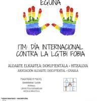 LGTBIfobiaren aurkako eguna: Aldarte elkartaren dokumentala + hitzaldia