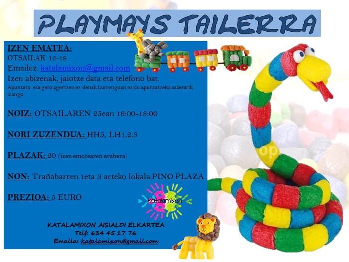 Playmays tailerra