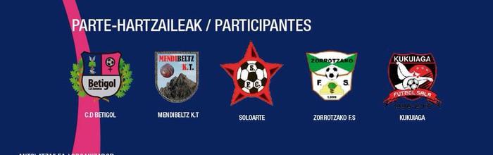 Emakumeen areto futbol torneoa Zornotzan, Beti Gol eta Mendibeltz taldeekin