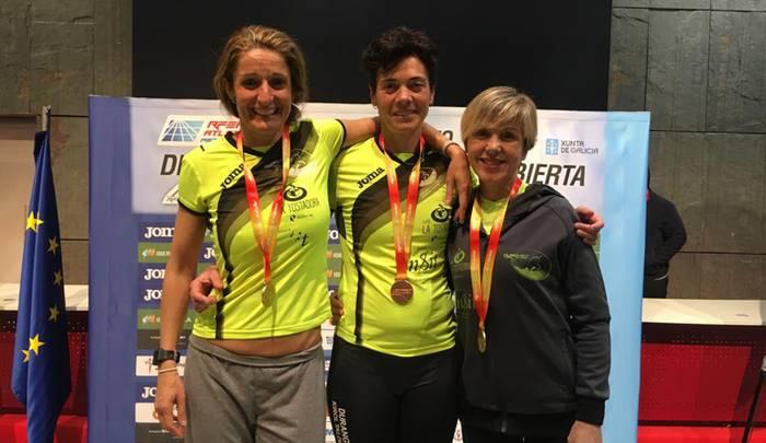 Sonia Oceja durangarra hiru dominarekin itzuli da Espainiako Master Txapelketatik