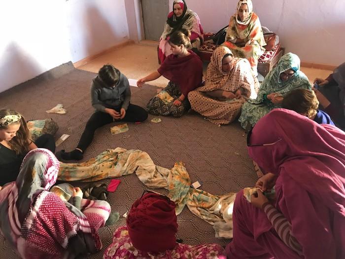 Gammar proiektua: Durangaldeko emakumeak Saharakoekin  elkarlana sustatzen