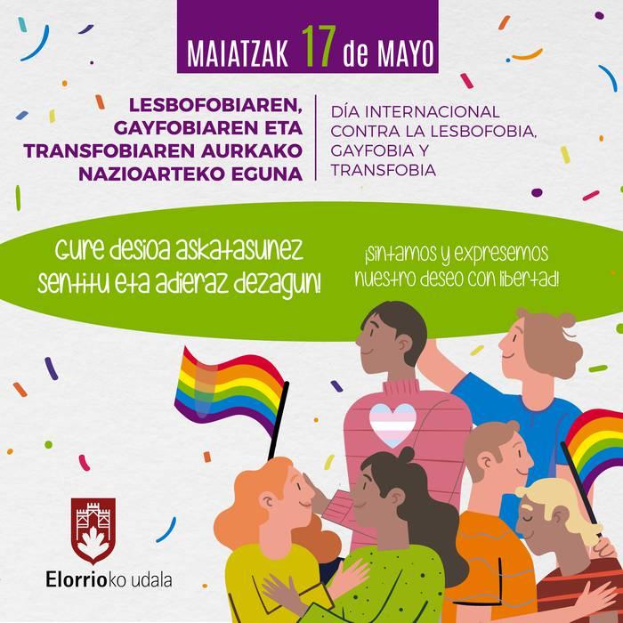 """""""Covid-19ak homofobia eta transfobia desagertaraz ditzan"""""""