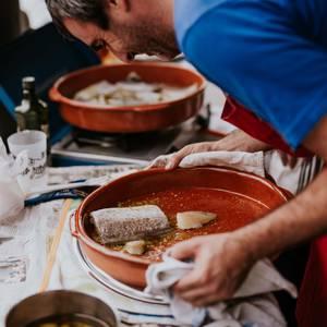 Tortilla eta bakailao txapelketa Atxondoko jaietan