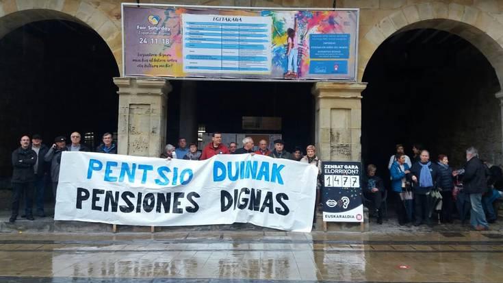Pentsiodunen larrialdietarako diru-laguntza eskaerak %35 igo dira 2018an Durangaldean