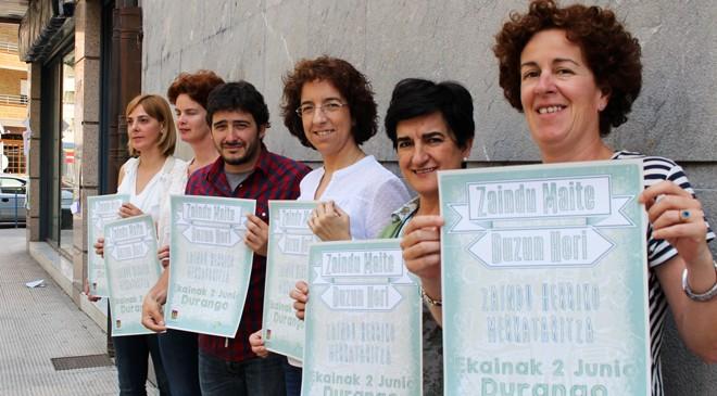'Zaindu maite duzun hori', komertzio txikia bultzatzeko ekimena