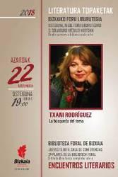 Literatura topaketak. Txani Rodríguez