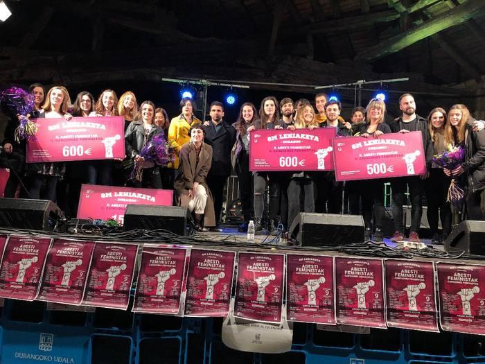 Irati Bilbao eta Amaiur Azkarate durangarrek irabazi dute II.Abesti Feministen Lehiaketa