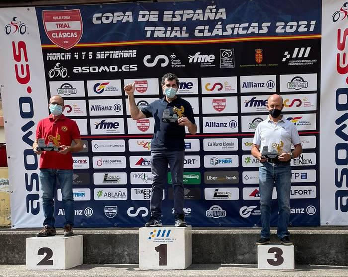 Roberto Mendibil elorriarrak garaipen batekin hasi du Espainiako trail kopa
