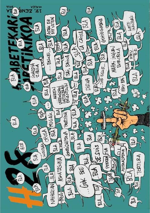 Iraileko Hatxehogeitazortzi hilabetekari satirikoa doan sarean