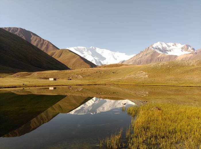 Peak Lenin-en islada Kirgistanen