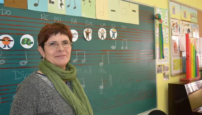 """Rosa Azkarate: """"Badaude egunak, leku faltagatik, ez duguna musika eskolako eskaintza zabaltzerik"""""""