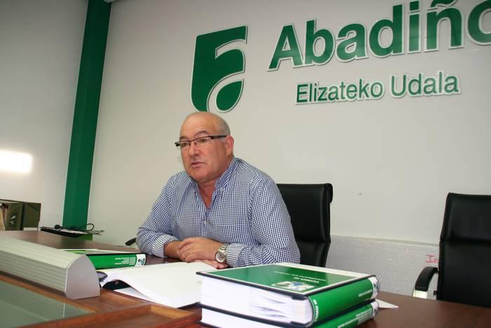 Jose Luis Navarrok agur esango dio Abadiñoko alkatetzari, ez baita hauteskundeetara aurkeztuko