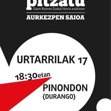 'Pitzatu. Gazte Boterez Euskal Herria eraikitzen'