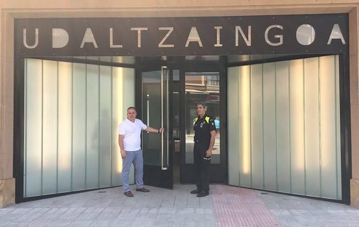 Zornotzako Udaltzaingoaren bulegoak eraberritu dituzte 350.000 euroko inbertsioarekin