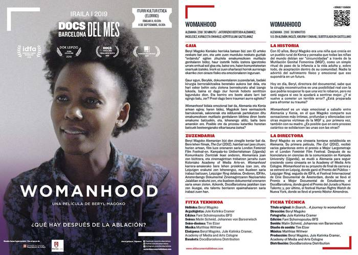 WOMANHOOD mutilazio genitalari buruzko dokumentala