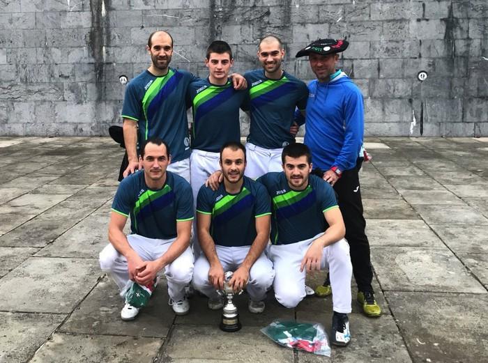 Bizkaiko taldeak irabazi du Euskal Herriko Bote Luzeko txapelketa