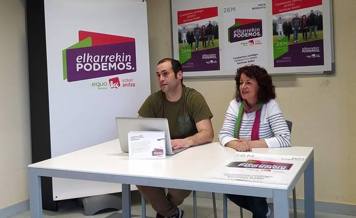 Belaunaldien arteko zentro bat egitea proposatu du Elkarrekin Podemos Berrizek