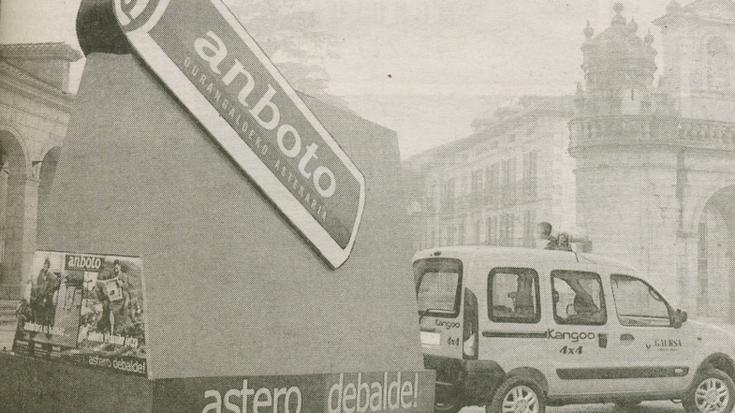 ANBOTO astekaria, 17  urtez euskaraz informatzen