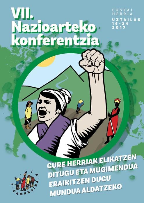 Via Campesinaren VII. konferentzia Euskal Herrian