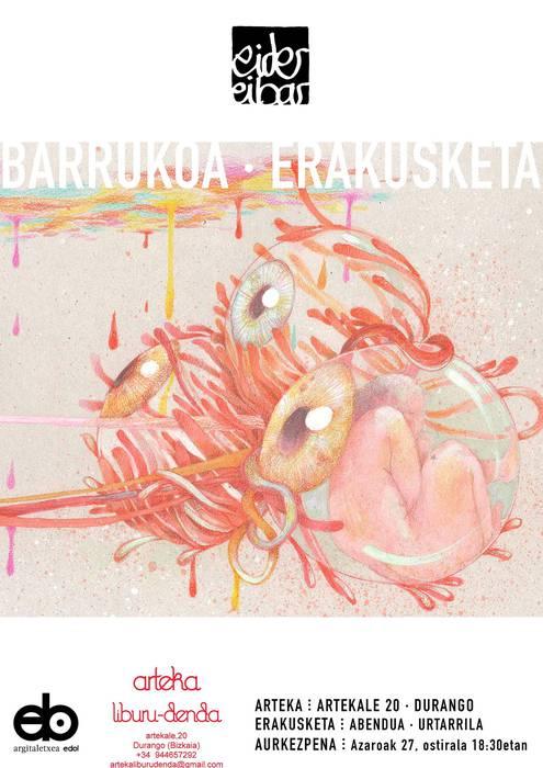 Eider Eibar ilustratzailearen 'Barrukoa' erakusketa