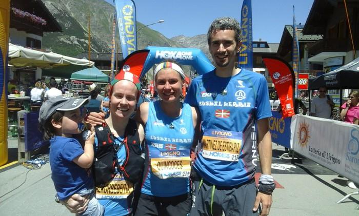 Oihana Azkorbebeitia zazpigarren sailkatu da Livigno Skymarathon mendi lasterketan