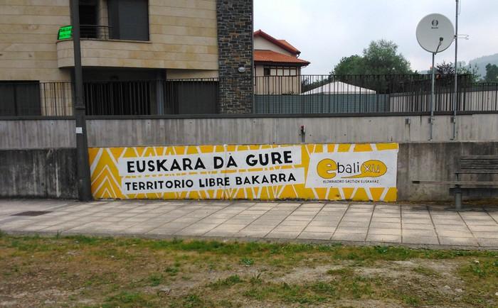 """""""Euskara da gure territorio libre bakarra"""""""