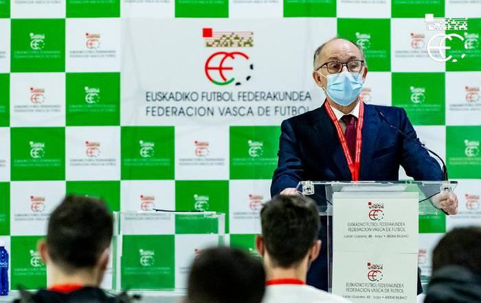 Javier Landetaren hautagaitzak irabazi ditu Euskadiko Futbol Federakundea gidatzeko hauteskundeak