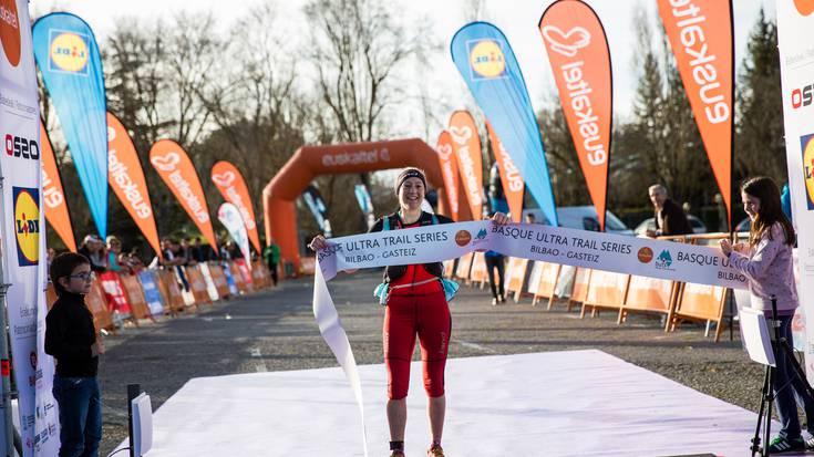 Silvia Triguerosek 110 kilometroko Basque Ultra Traila irabazi du