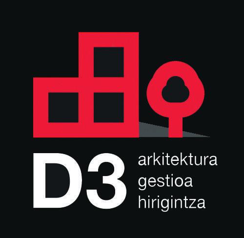 D3 ARQUITECTOS logotipoa