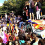 Kataluniako prozesuari babesa erakusteko, elkarretaratzeetara deitu dute