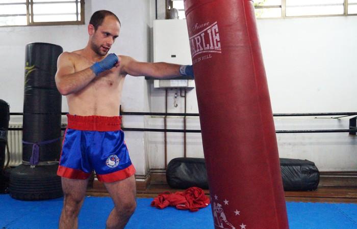Aitor Mendiola zornotzarrak etxean egingo du profesionaletako debuta kickboxingean
