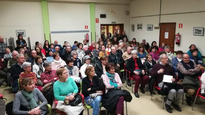 Zahartzaro aktiboaren inguruko hitzaldia antolatu du Durangoko EH Bilduk