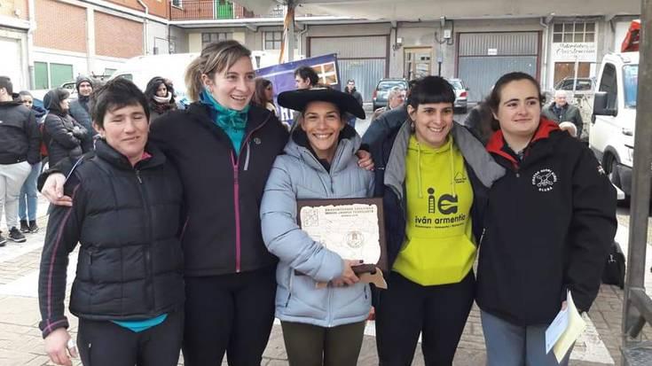 Karmele Gisasola hirugarren Euskadiko Ingude-jasotze Txapelketan