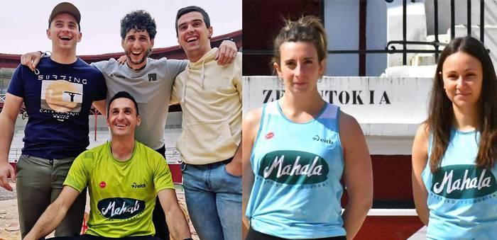 Gisasolatarrek bigarren amaitu dute binakako Euskadiko Pentatloi txapelketan