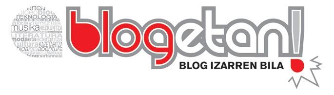 129 blog aurkeztu dituzte Blogetan! lehiaketara
