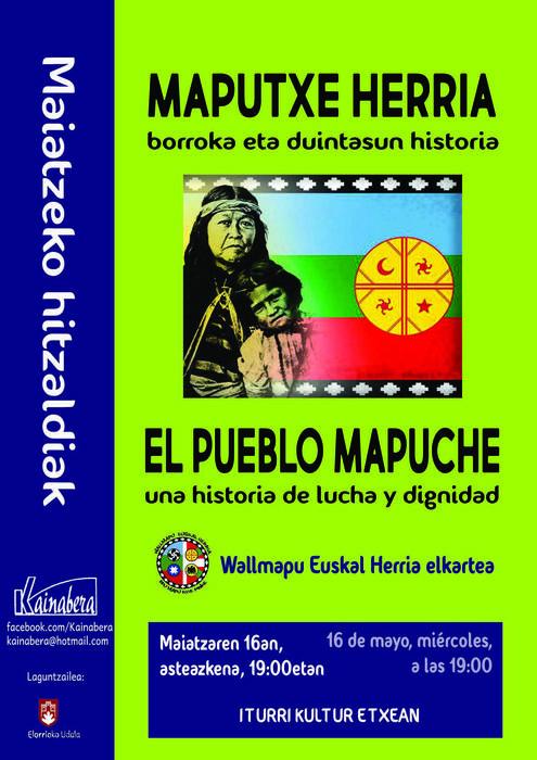 Hitzaldia: 'Maputxe herria, borroka eta duintasun historia'
