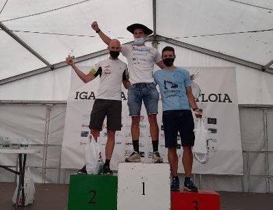 Paul Bereziartuak Euskal Herriko mendi duatloien proba irabazi du Beasainen eta sailkapen orokorrean lider jarri da