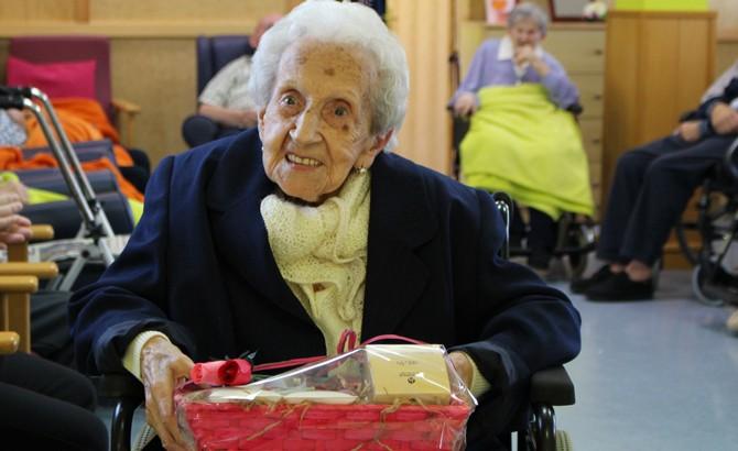 102 urtegaz bizirik dagoen emakume erraketista durangarra