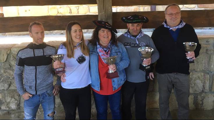 Josune Sarrionandiak eta Jose Luis Arregik irabazi dute Bizkaiko Bolo Txapelketa
