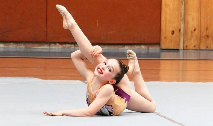 Olazarmendi klubeko gimnastak Bizkaiko txapeldun geratu dira benjamin mailan