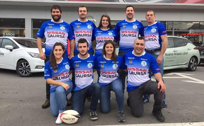 2019. urtea kamiseta eta diseinu berriarekin hasi du Durango Rugby Taldeak
