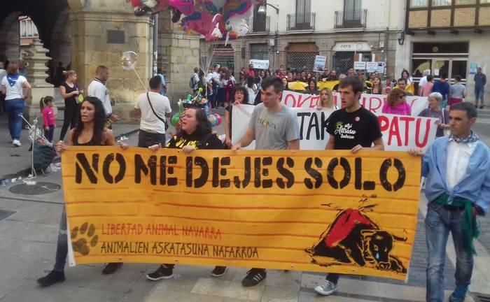 Sokamuturraren aurkako manifestazioa deitu dute urriaren 5erako